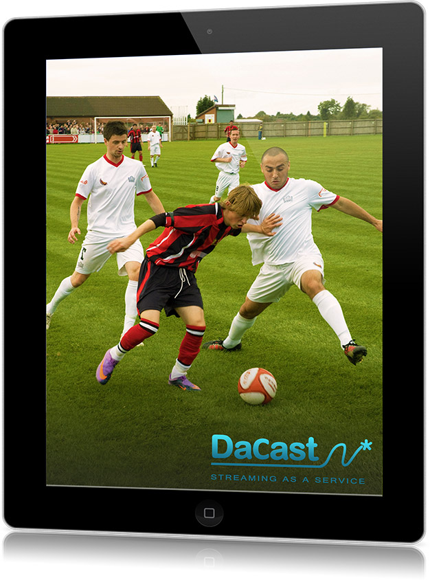 DaCast HTML streaming for mobile devices