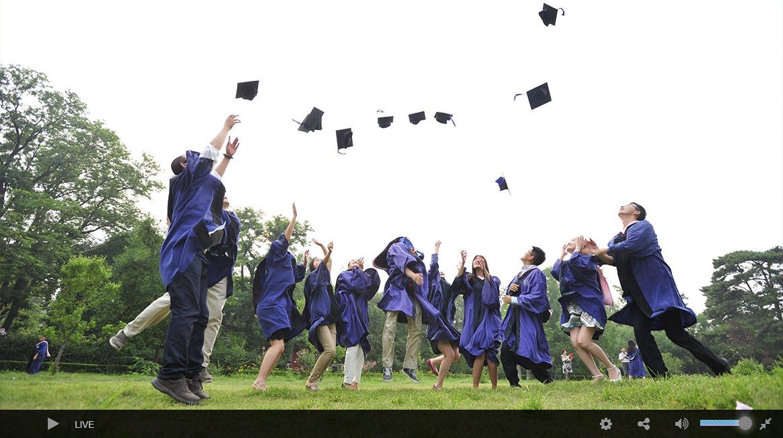 Live Streaming Graduation Ceremony