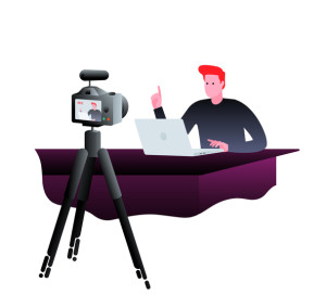 branding with live video