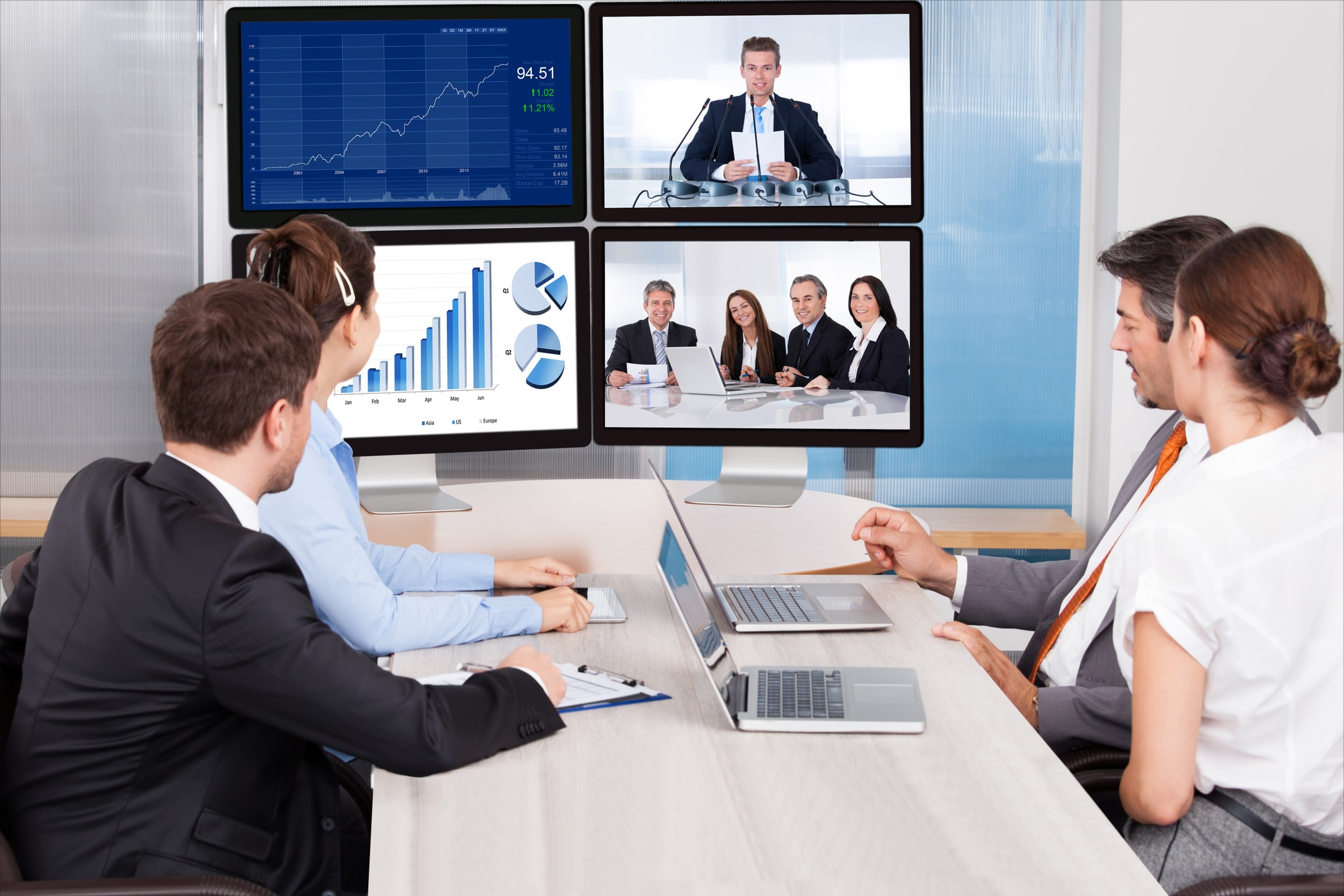 Live Streaming Company - meetings and reports