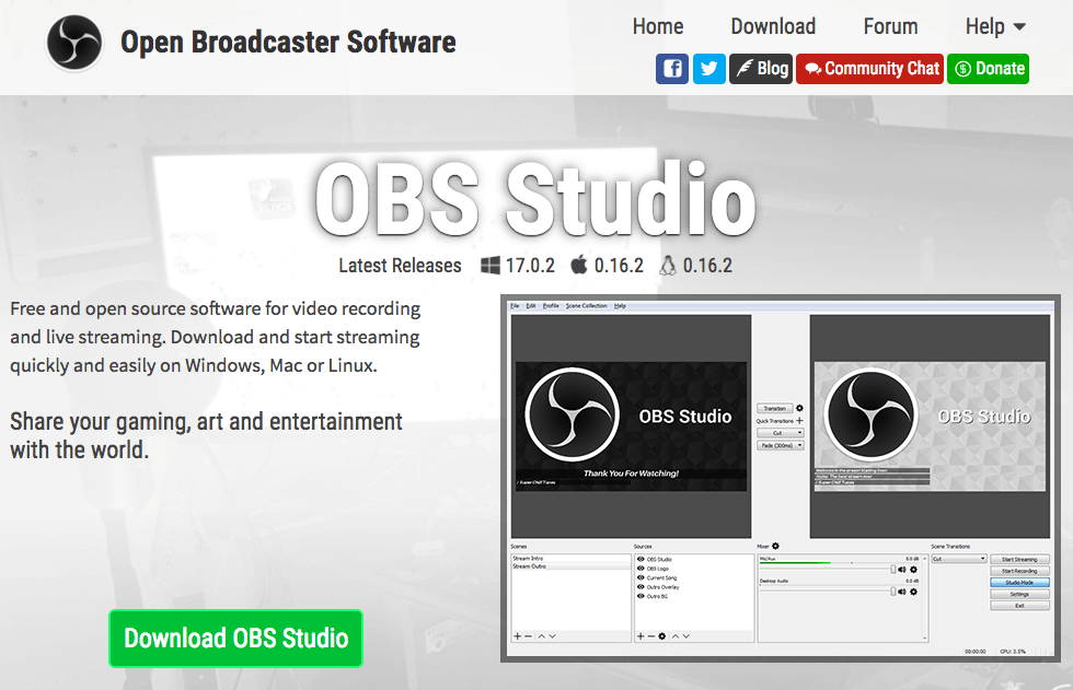 video broadcast software