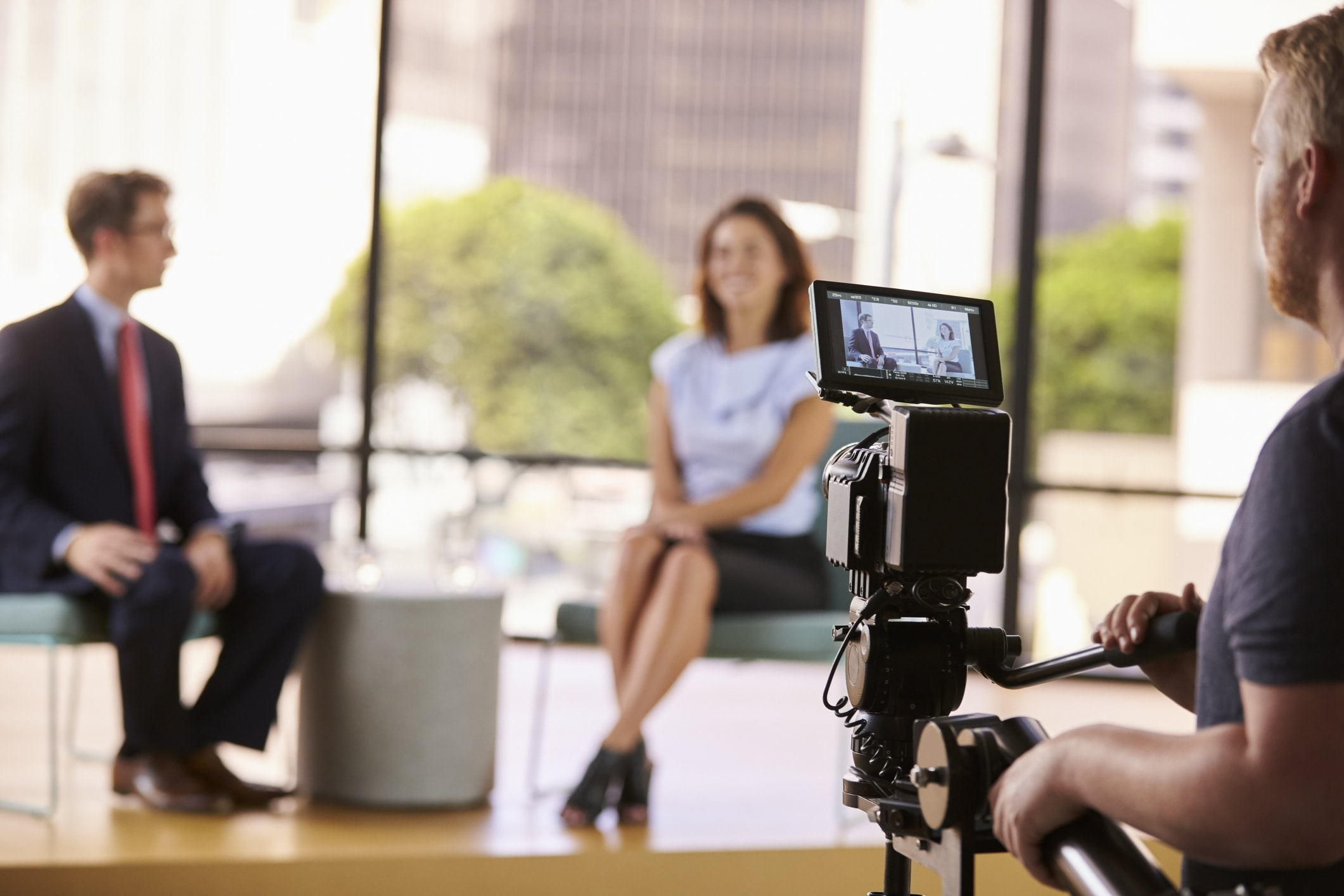Video Streaming Provider for Corporate Training - filming training