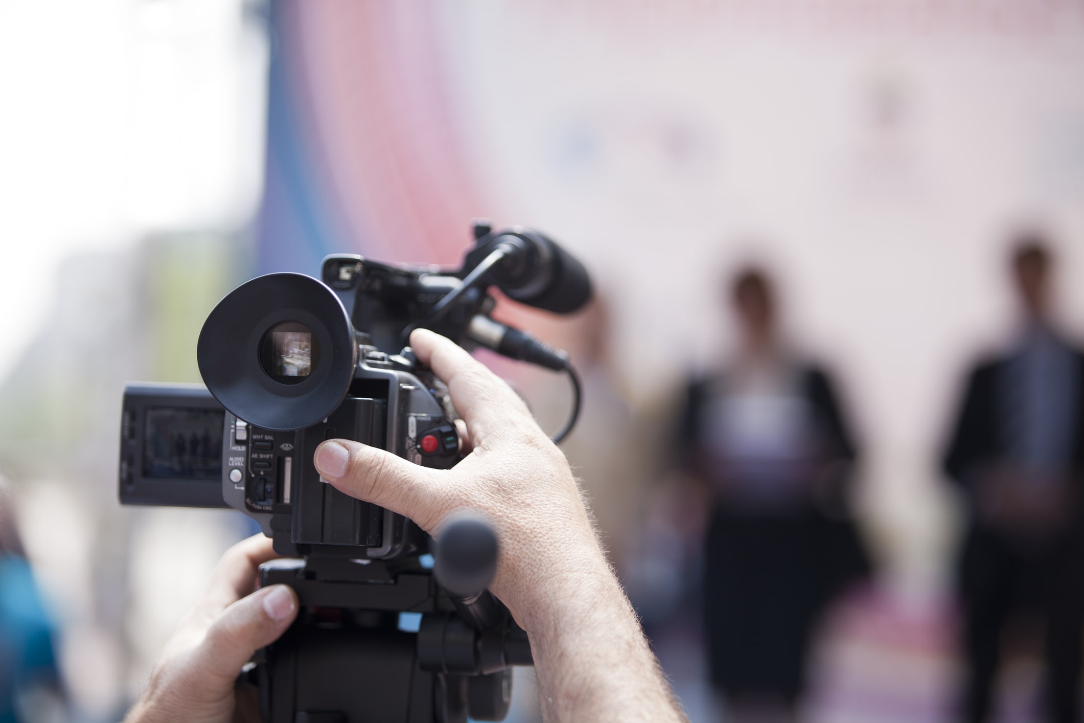 how to broadcast live video camera in action