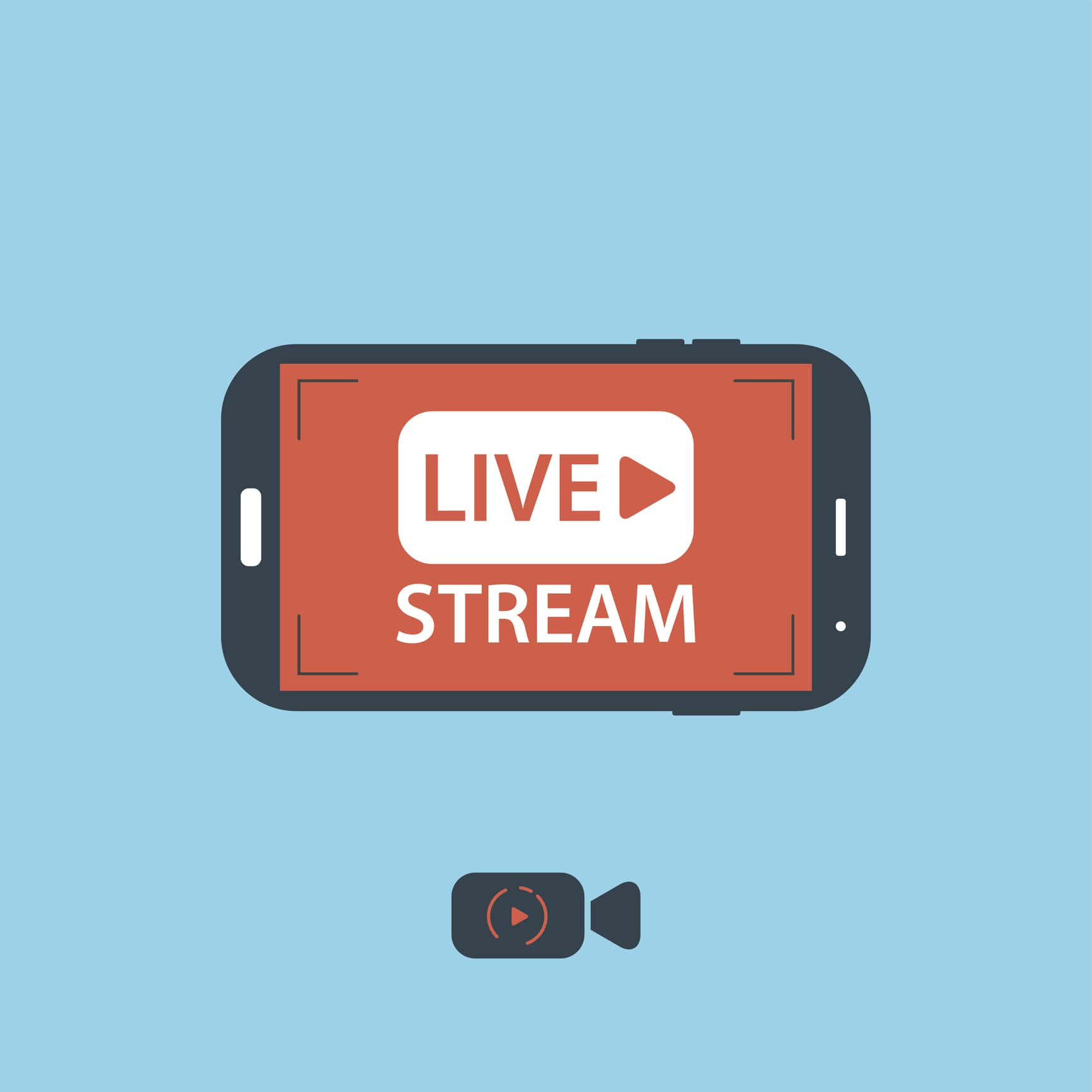 Live Streaming Apps for iPhone with RTMP Ingest - iOS