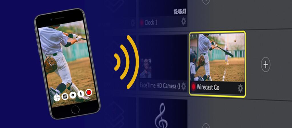 iOS RTMP Streaming App - WirecastGo