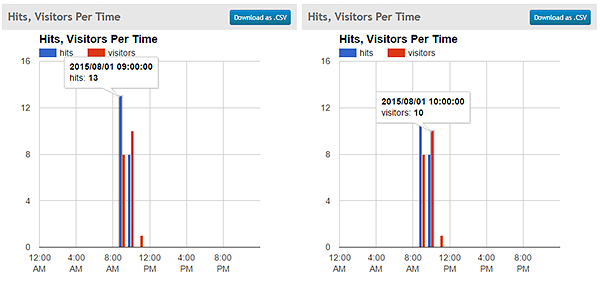 analytics for visitors