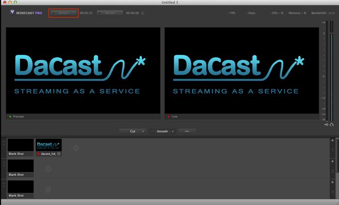 Wirecast multi-bitrates