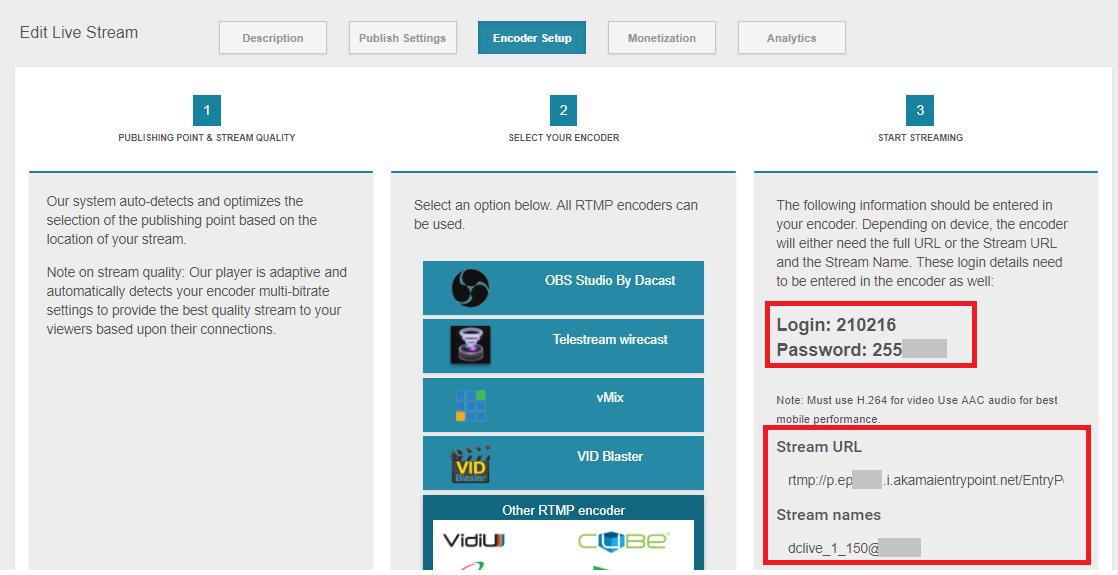 How Do I Stream using OBS Studio (Windows)? - Dacast