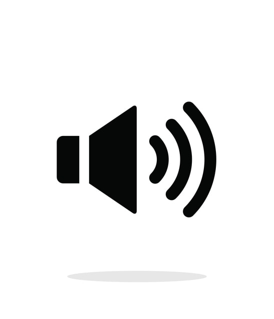 Live streaming audio icon
