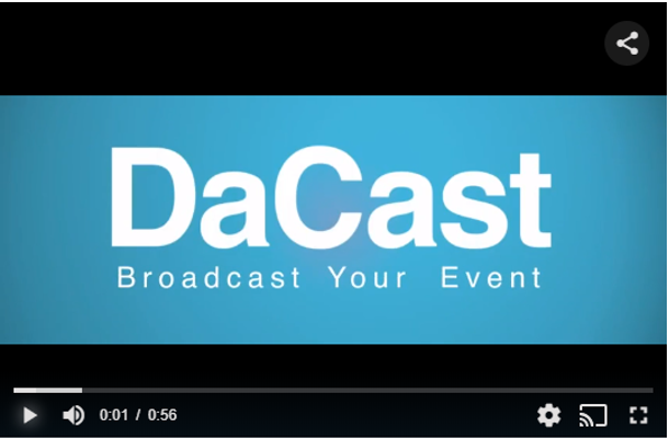 New Upgraded DaCast Default Video Player