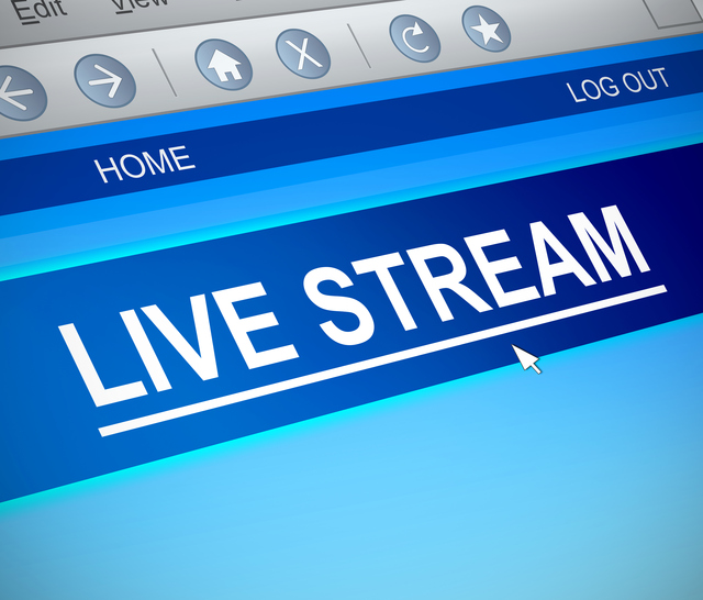 stream live video on a website