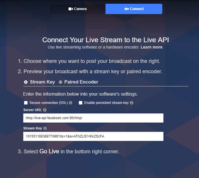 Multi Streaming to Facebook and Dacast