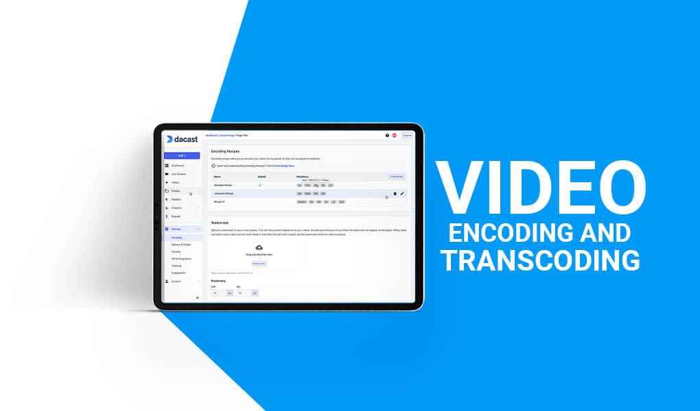 Video Encoding and Transcoding