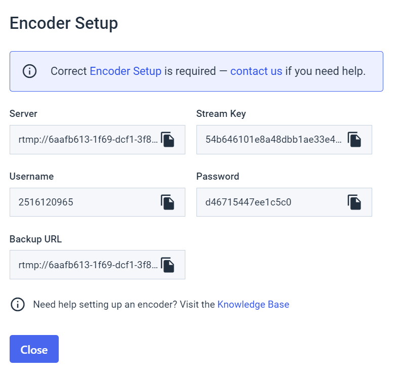 ffmpeg for Mac - Encoder Setup Fields