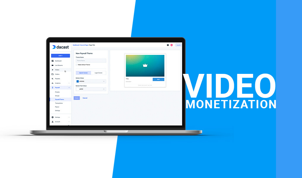 Dacast - Video Monetization and Paywall