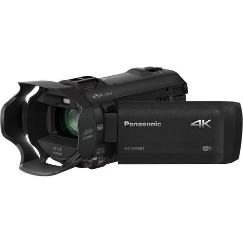Panasonic HC-VX981K 4K camera