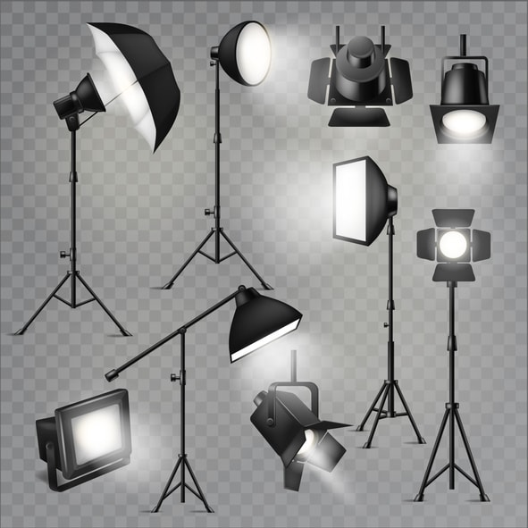 video lighting setup