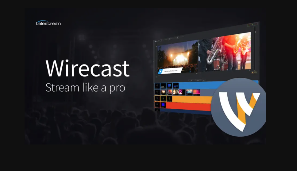 Wirecast pro RTMP encoder for live streaming