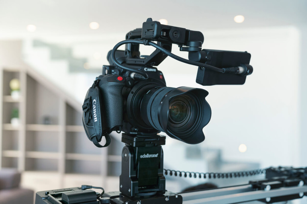 Canon EOS C200 4K HD camcorder