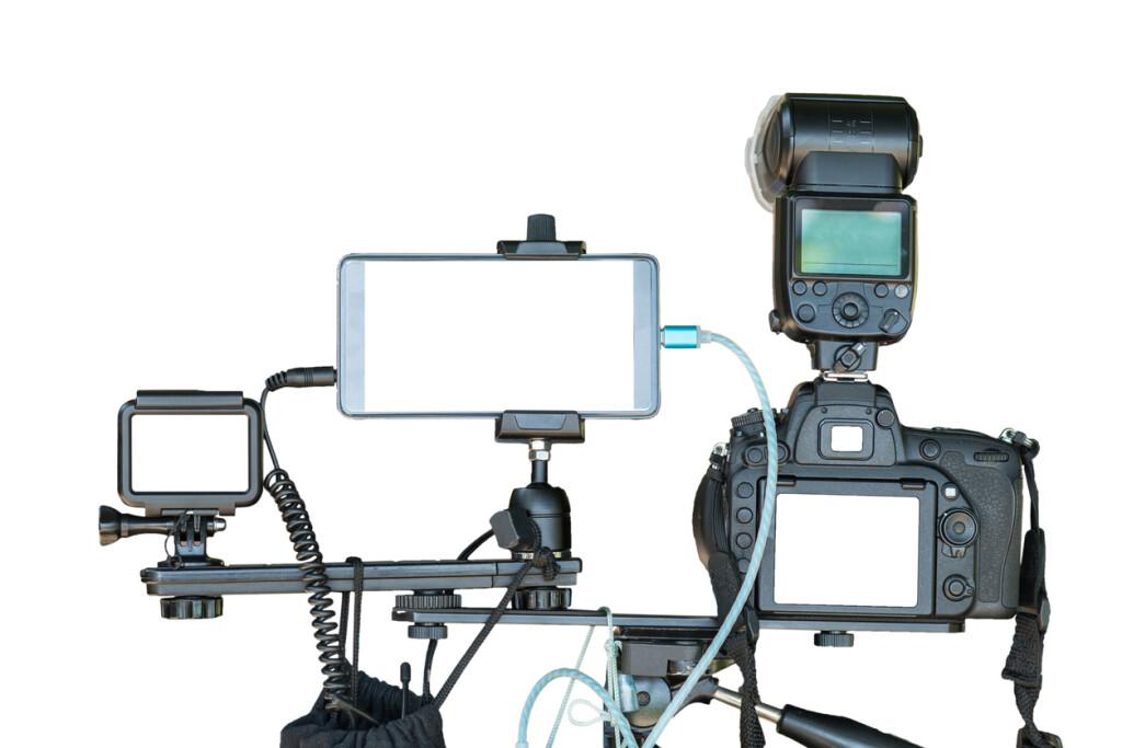 Live stream multiple cameras