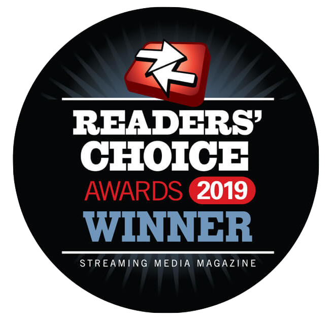 Readers choice awards 2019 winner dacast