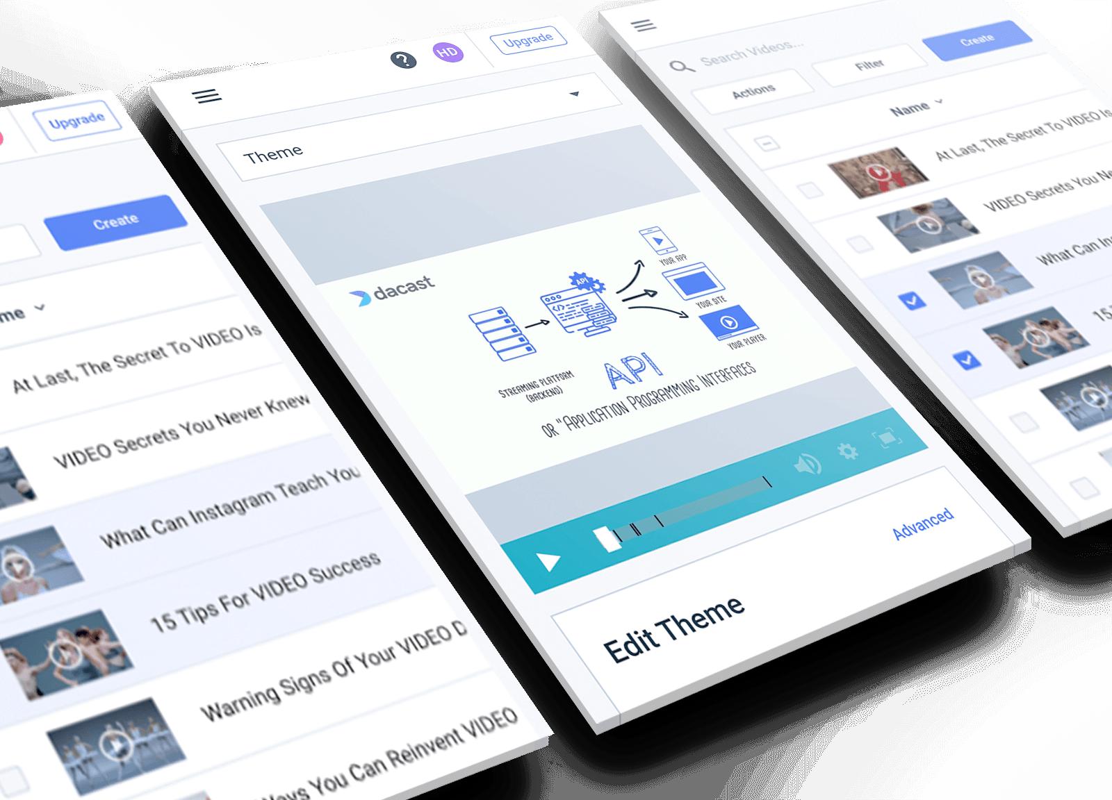 video monetization and customization via API