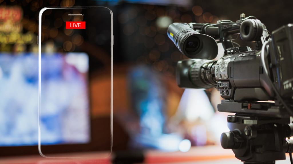 live streaming equipment - hd camera