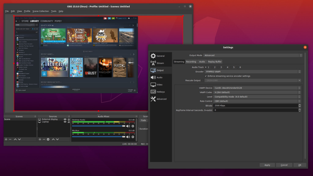 obs Live Streaming Software