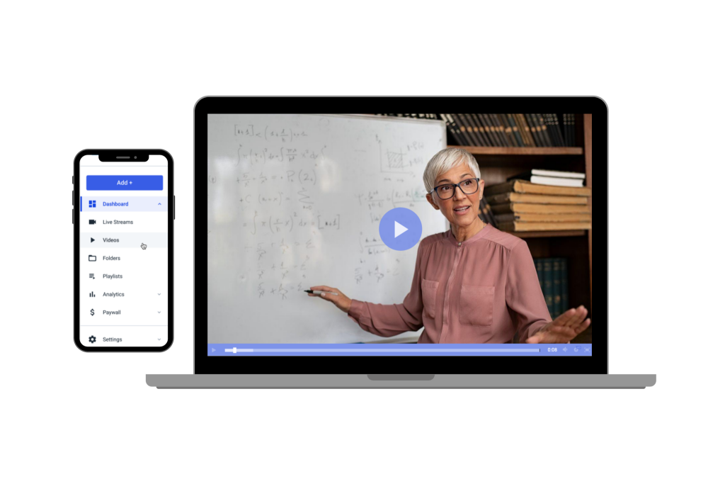 online education platform with live video recording