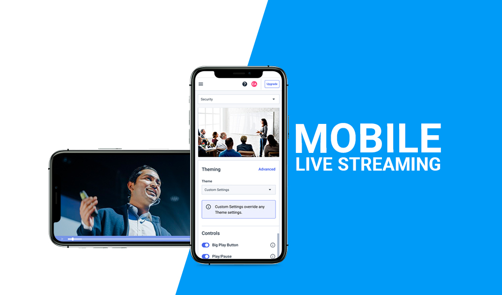 Dacast Mobile Live Streaming - Knowledge Base Tutorials