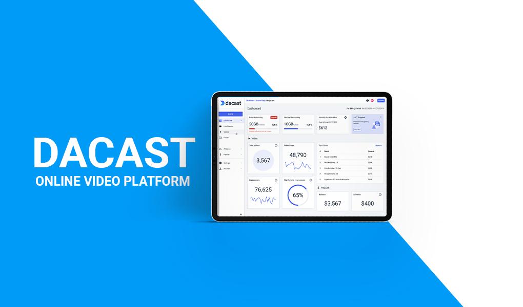Dacast - Online Video Platform OVP