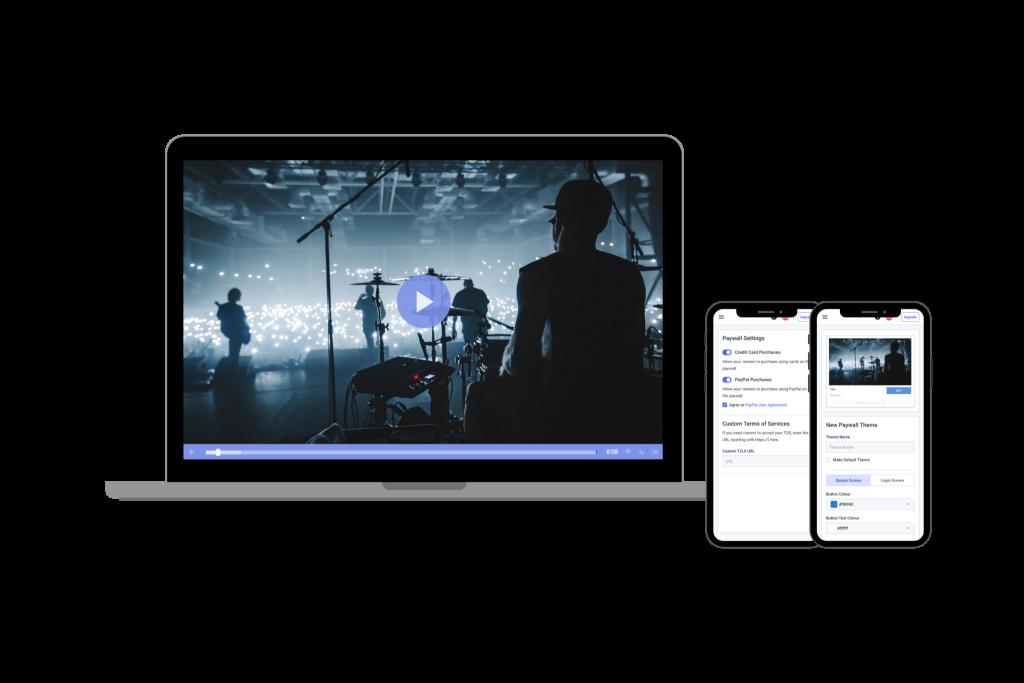 Dacast New Platform - Sales Platform - Video on demand software