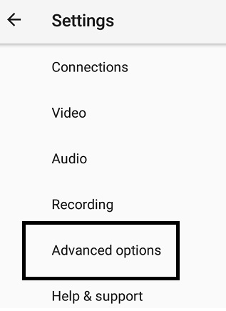 Live Video Streaming - Larix Mobile Broadcaster - advanced option settings