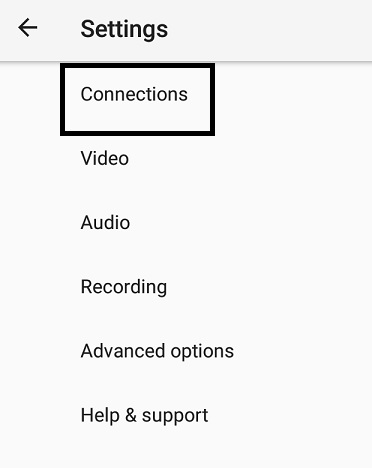 Live Video Streaming - Larix Mobile Broadcaster - connections settings