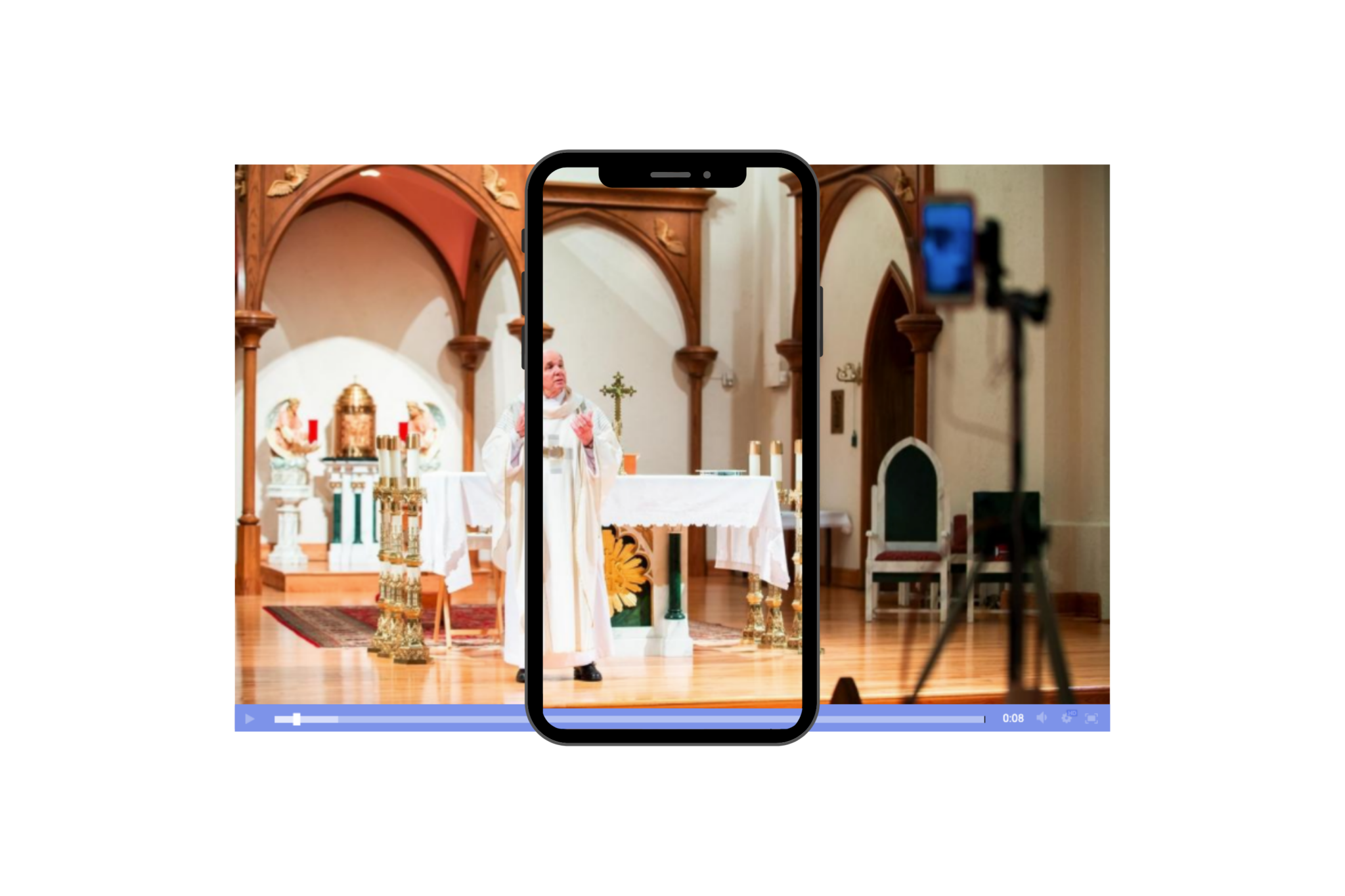 church live streaming software