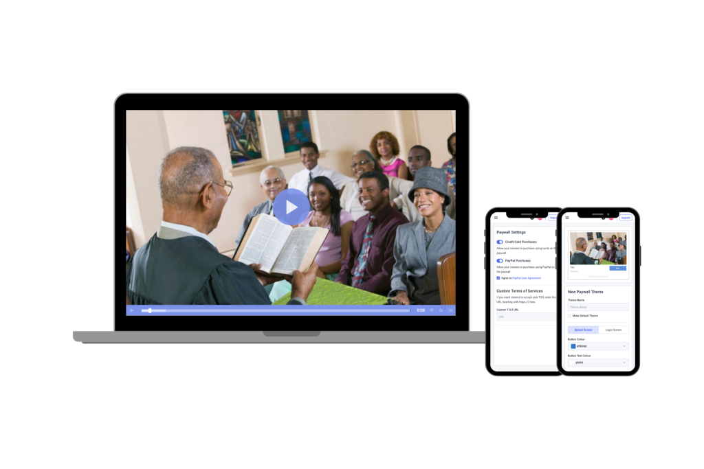 church live streaming solutions