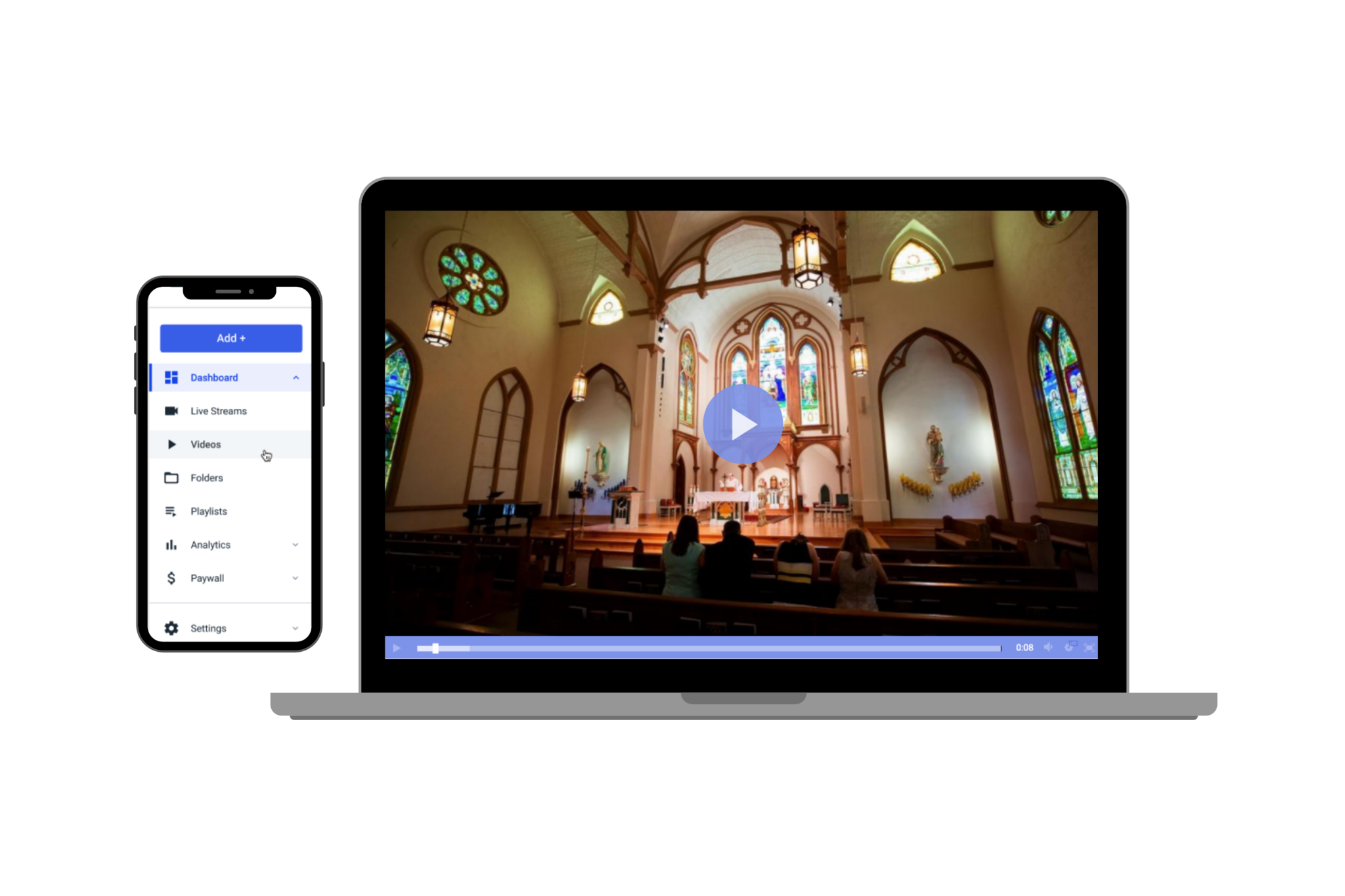 live streaming setup for churches
