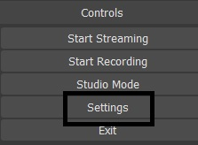 Dacast Encoder Setup Guide - OBS settings