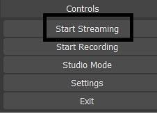 Dacast Encoder Setup Guide - OBS start streaming