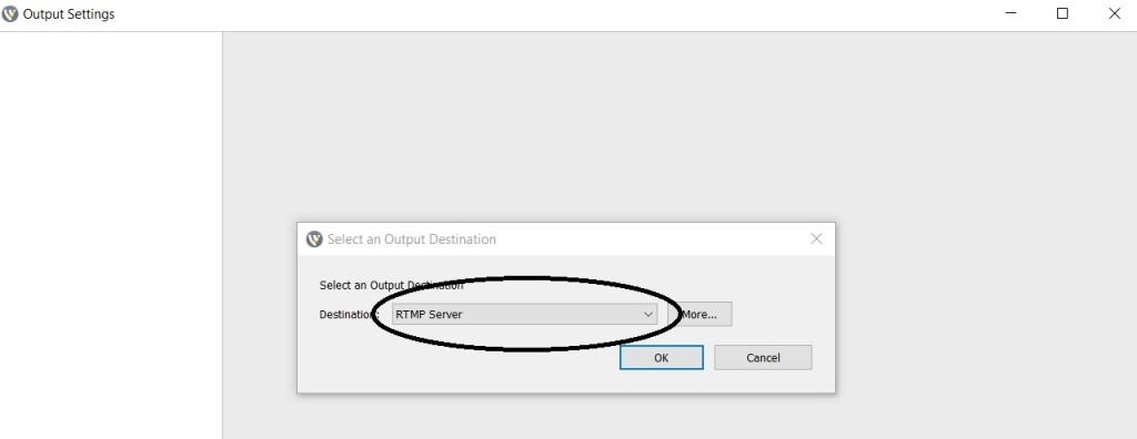 Dacast Encoder Setup Guide - Wirecast settings RTMP Server