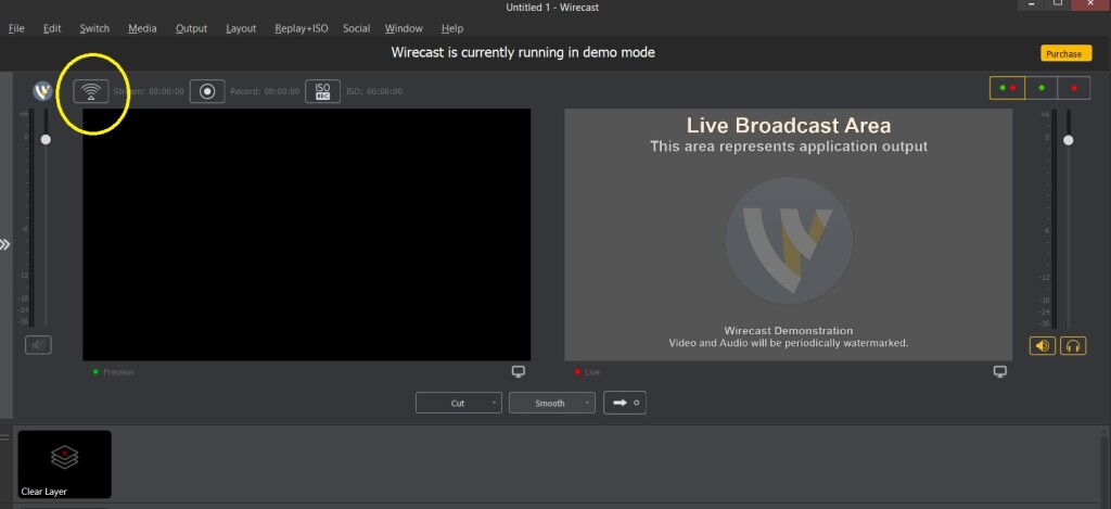 Dacast Encoder Setup Guide - Wirecast settings live stream confirmation