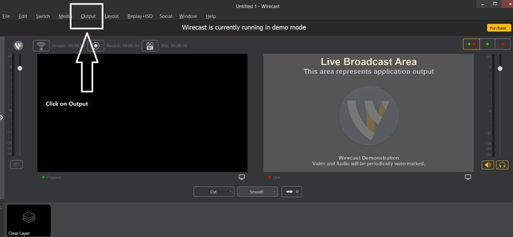 Dacast Encoder Setup Guide - Wirecast settings output