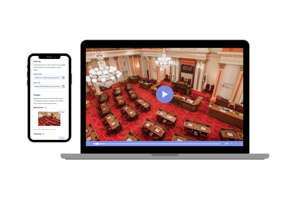live streaming government hearings