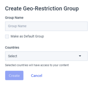 Dacast Geo-Restrictions to Restrict Live Stream Viewers