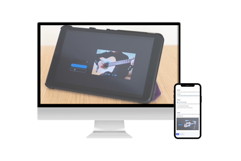 Live Stream Recording for audio and video