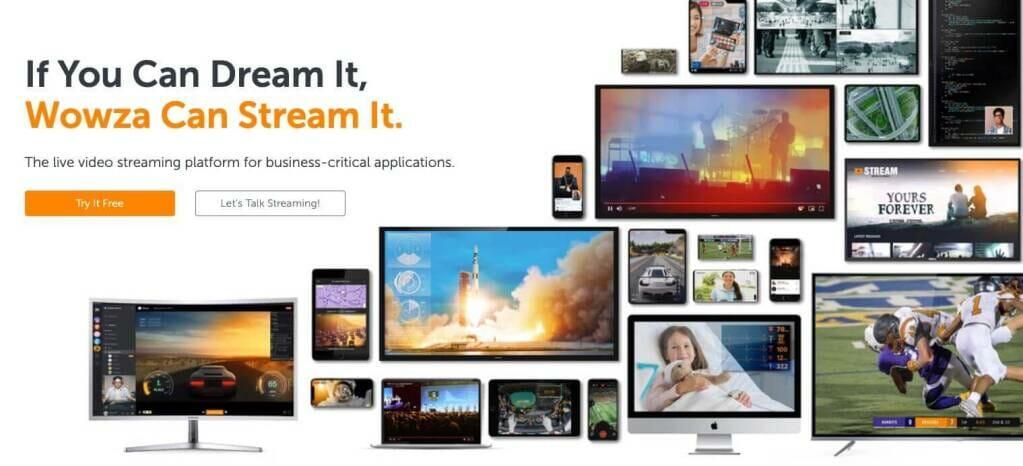 wowza streaming video hosting