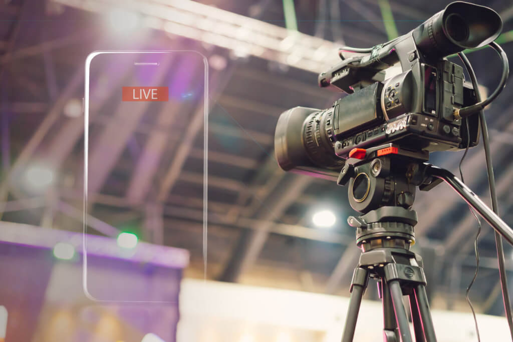 live streaming camera equipment