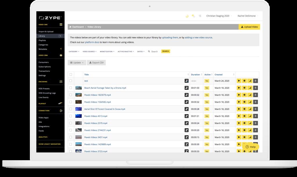 Zype Education video platform