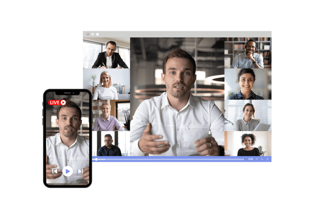 Linear Live Streaming Video Content