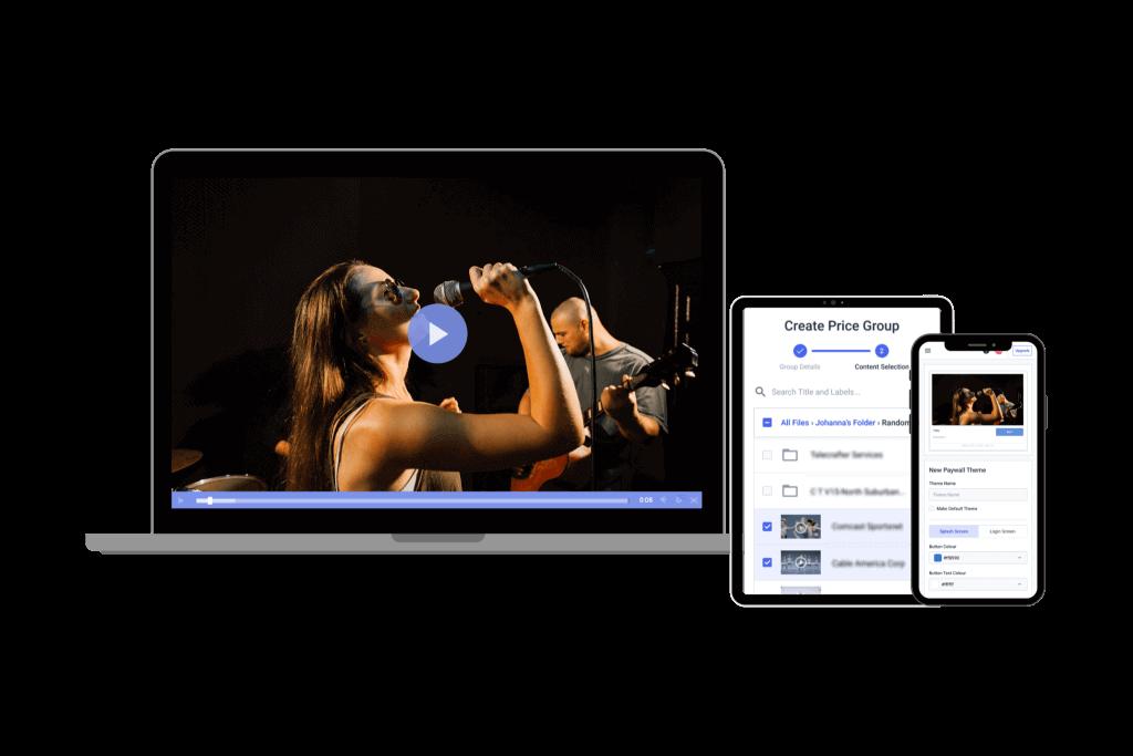 Video on demand software